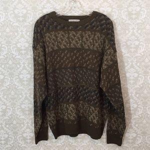 Geoffrey Beene Men's Sweater Large
